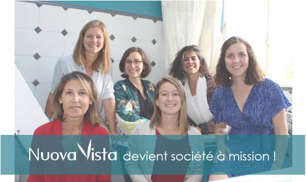 Nuova Vista devient société à mission